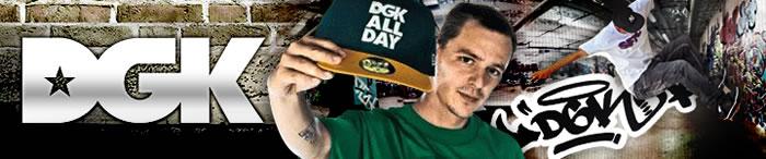 【DGK/ディージーケイ】西海岸発スケートボードトータルブランド