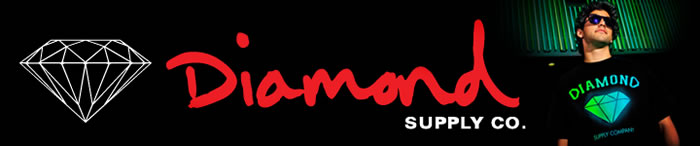 【DIAMOND SUPPLY CO./ダイアモンドサプライ】カリフォルニア発西海岸スケートボードトータルブランド